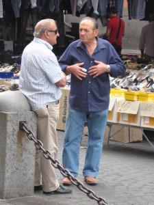Orvieto street scene