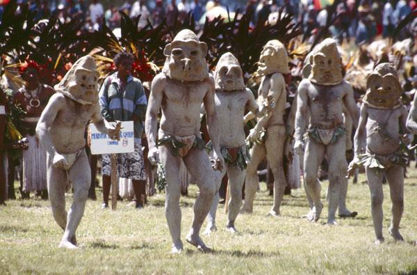 Mud Men of Papua New Guinea