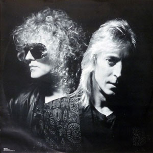 Ian Hunter and Mick Ronson
